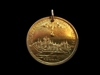 1754 French Medal