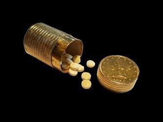 Gold Pillbox