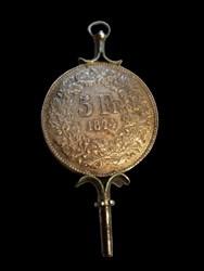 5-Franc Timepiece Key
