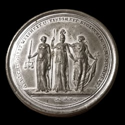 Eclectic Numismatic Treasure (Box Medals - 1813 Schraubmedaille)