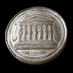 1813 Schraubmedaille