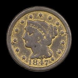 1847 Large Cent