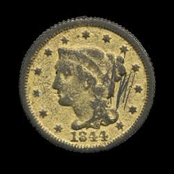 1844 Large Cent