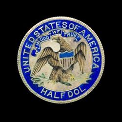 1874 Half Dollar