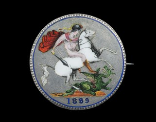 1889 British silver