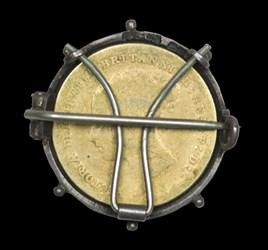 1884 Sixpence