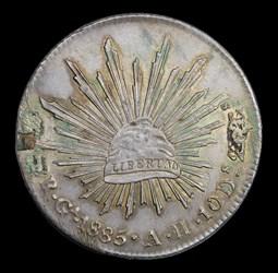 1885 Enamedl 8 Reales