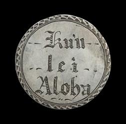 Engraved Hawaiian Silver