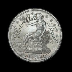 Engraved Trade Dollar
