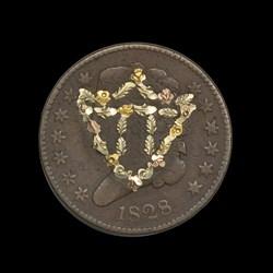 Decorated Half Cent
