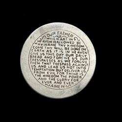 Lord's Prayer Engraving