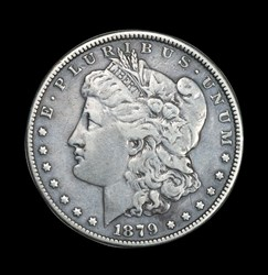 1879 Engraved Morgan