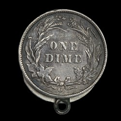 Barber Dime Locket