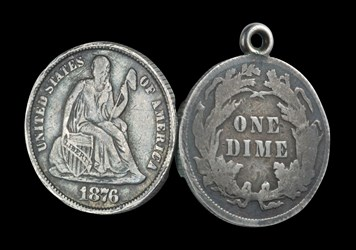 Seated Dime Locket