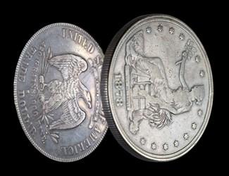 Trade Dollar Locket