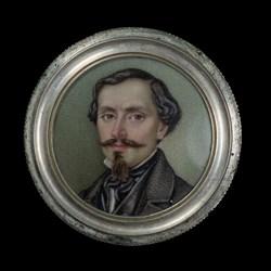 1848 5-Lire Screw Box Coin