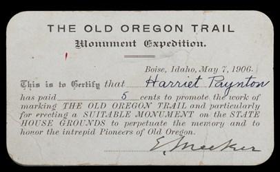 Oregon Trail Donation