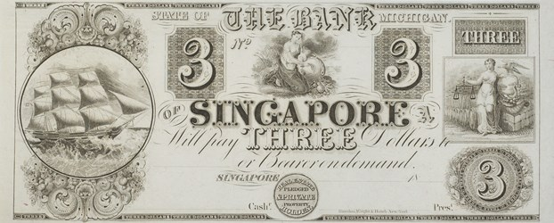 Broken Bank Note