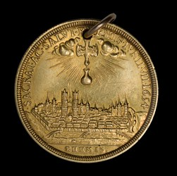1654 French Medal