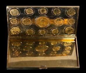 Cigarette Case, 14K