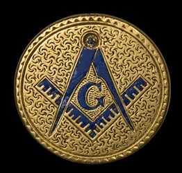 Enameled Masonic