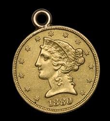 1880 $5