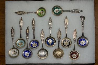 Hawaiian Enameled Spoons