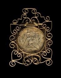 Enameled O-Mint Morgan Dollar