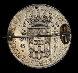 1814 Portuguese silver