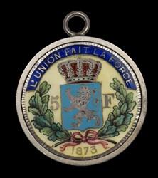 Leopold II 5-franc