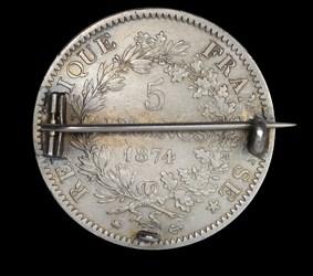 Enameled 5-franc