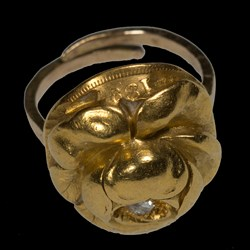 Repousee Ring