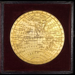 Cased World Map