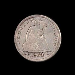 25c 1854-O Huge-O (1 of 2)