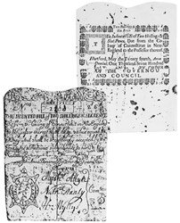 Early Paper Money of America / Connecticut / 1729 May