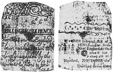 Early Paper Money of America / Connecticut / 1727 November 7