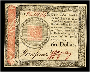 January 14, 1779 $60