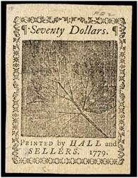 January 14, 1779 $70