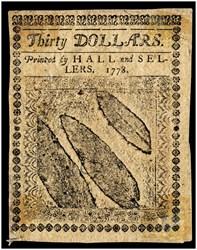 April 11, 1778 $30