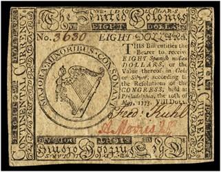 May 10, 1775 $8