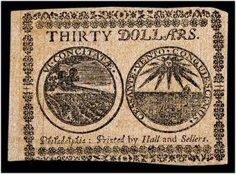 May 10, 1775 $30