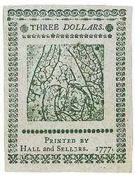 May 20, 1777 $3