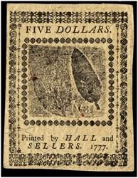 May 20, 1777 $5