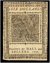 May 20, 1777 $6