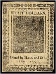 May 20, 1777 $8