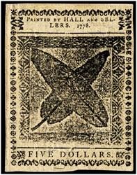 September 26, 1778 $5