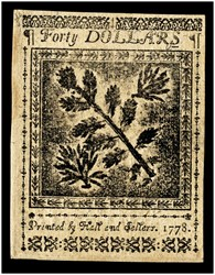September 26, 1778 $40