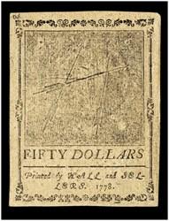September 26, 1778 $50