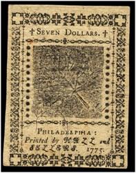 November 29, 1775 $7