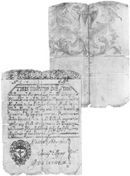 Early Paper Money of America / Rhode Island / July 5, 1715